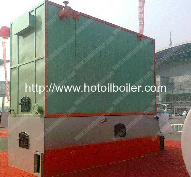 4.1MW Chain Grate Coal Fired Thermal Oil Heaters