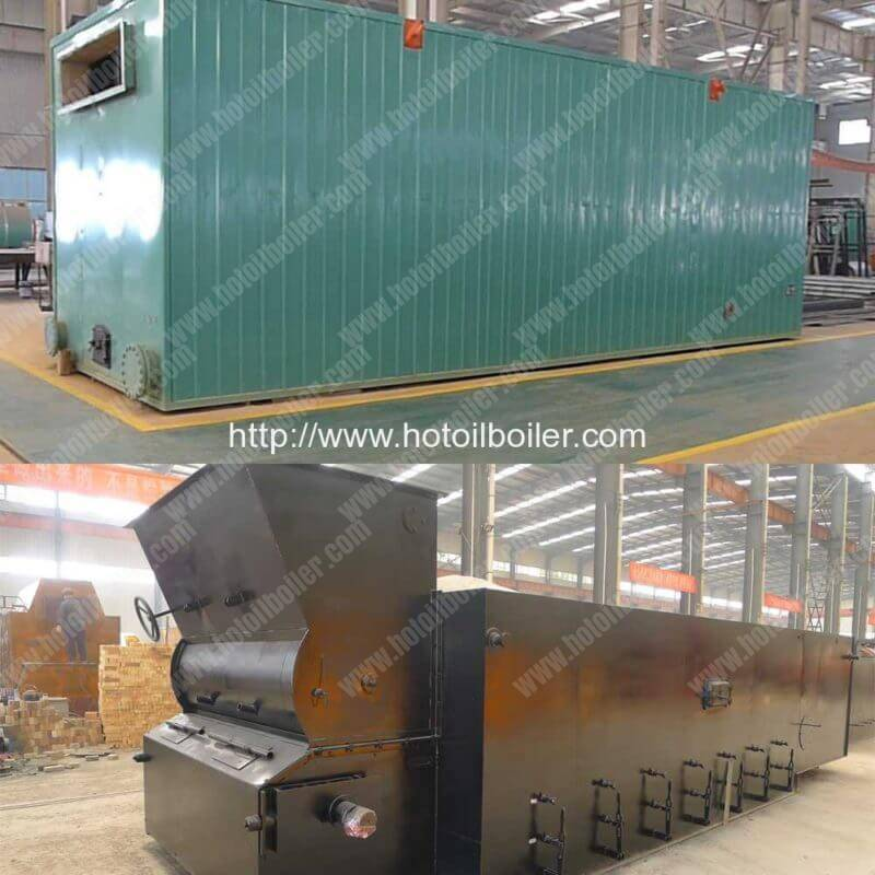 14MW Chain Grate Coal Fired Thermal Fluid Heaters