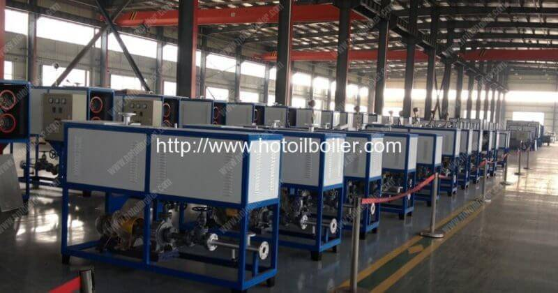 5KW Electric Heating Thermal Oil Boilers