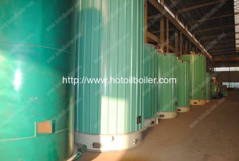 8200KW Coal Fired Molten Sal Heater