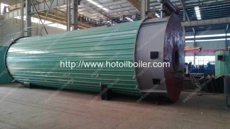 9300KW Gas Fired Hot Oil Boilers