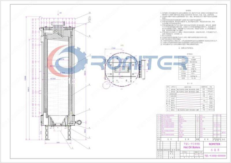 9300KW-Gas-Fired-Hot-Oil-Boilers