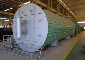 8200KW Coal Fired Molten Salt Heater