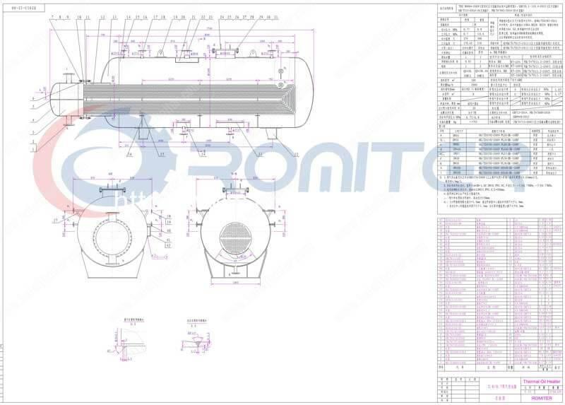 Horizontal-Thermal-Oil-Heating-Steam-Generator