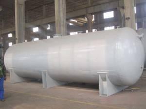 Liquid LNG Dewar Flask