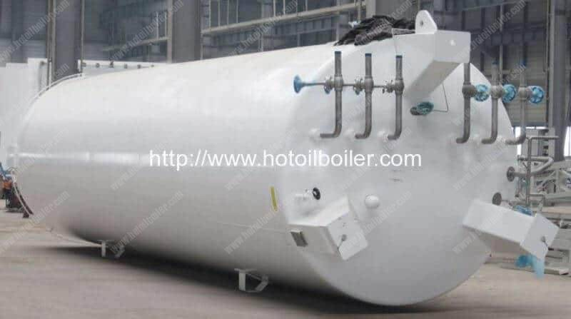 Liquid Oxygen Vaccum Cryogenic Storage Vessel
