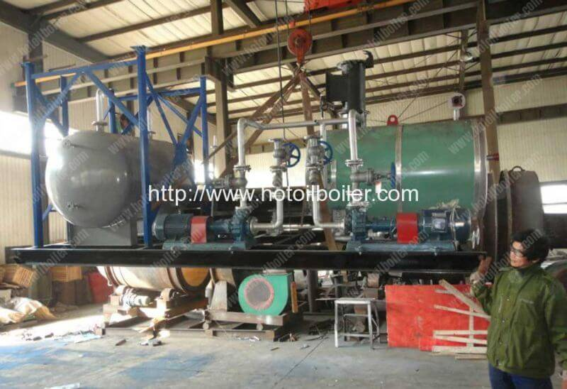 Movable-Skid-Mounted-Gas-Fired-Thermal-Oil-Boilers