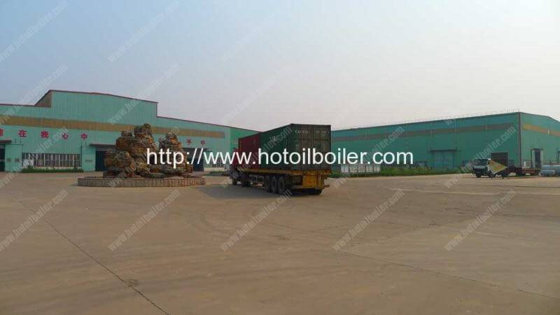 Thermal-Oil-Boiler-Factory-Yard