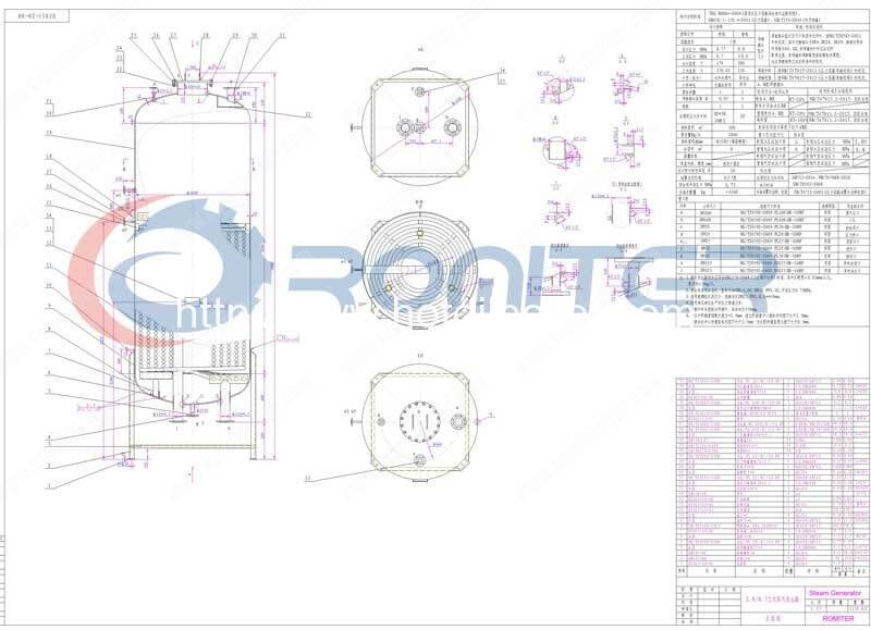 Vertical-Thermal-Oil-Heating-Steam-Generator