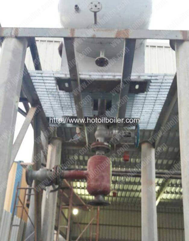 oil-gas-separator-installation-for-diesel-fired-thermal-oil-heaters