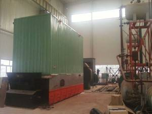 6000KW Horizontal Coal Fired Thermal Oil Heaters