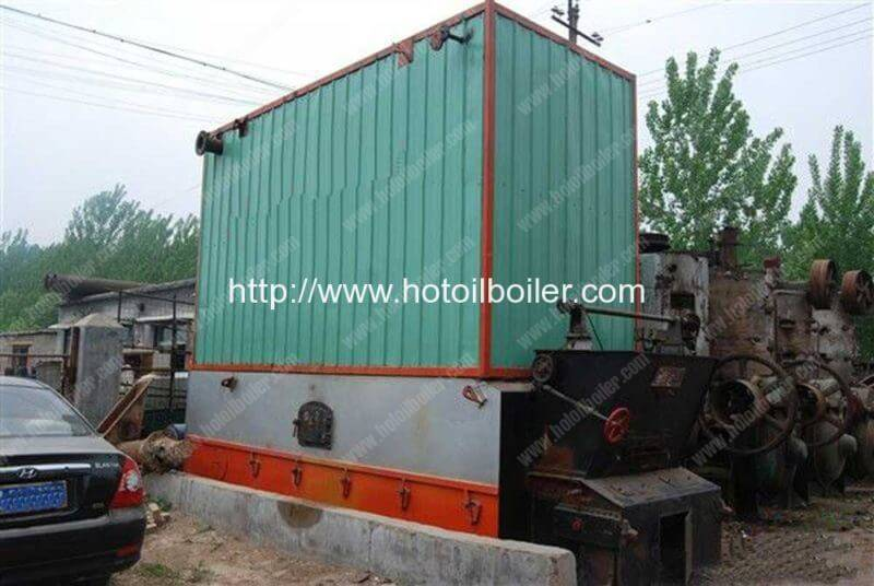 YLW Chain Grate 3500KW Coal Fired Thermal Oil Boilers