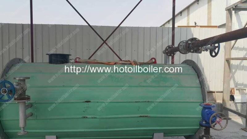 400000Kcal Diesel Oil Fired Thermal Oil Boiler Installation in Bahrain