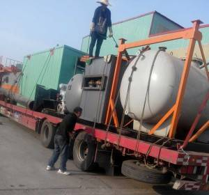 3000KW YLW  Chain Grate Coal Fired Thermal Oil Heaters