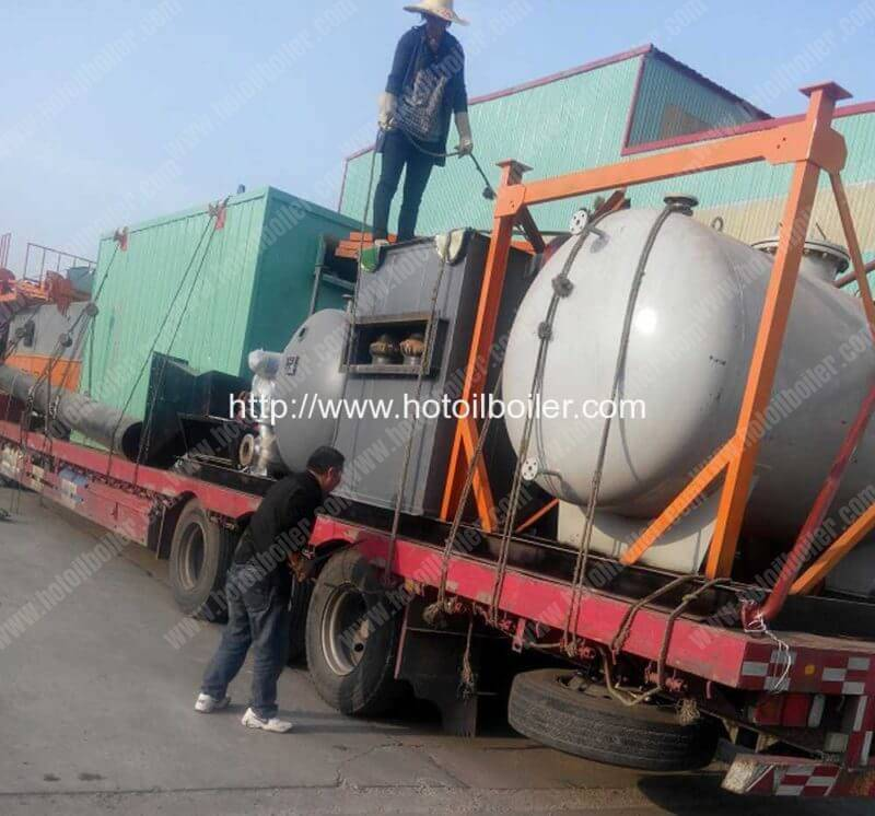 Coal-Fired-Thermal-Oil-Heaters-Delivery