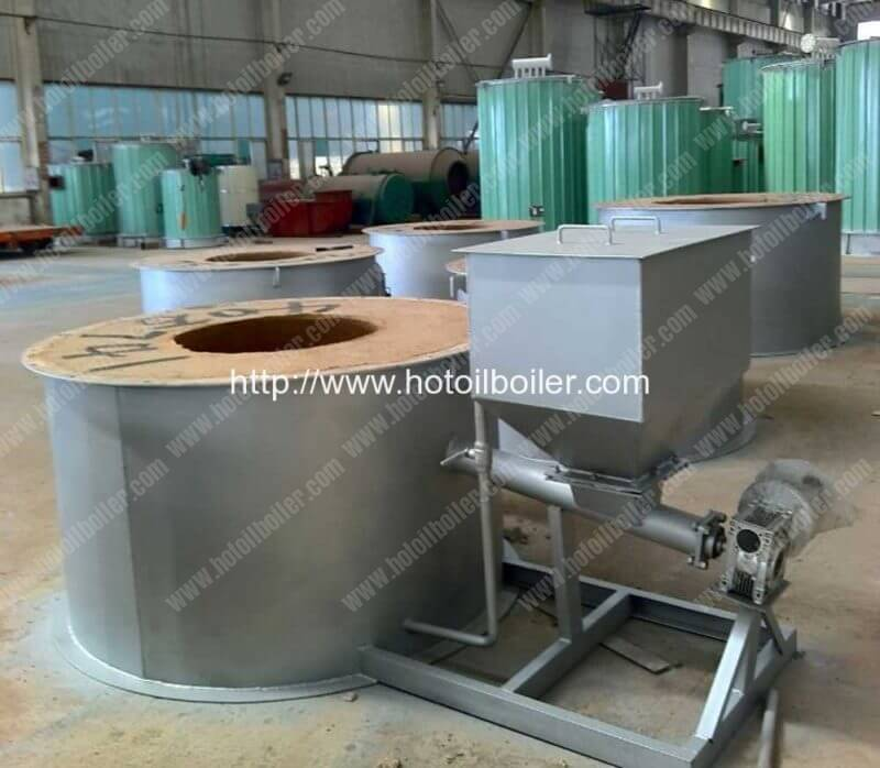 Screw Feeding Wood Pellet Fired Thermal Oil Boilers