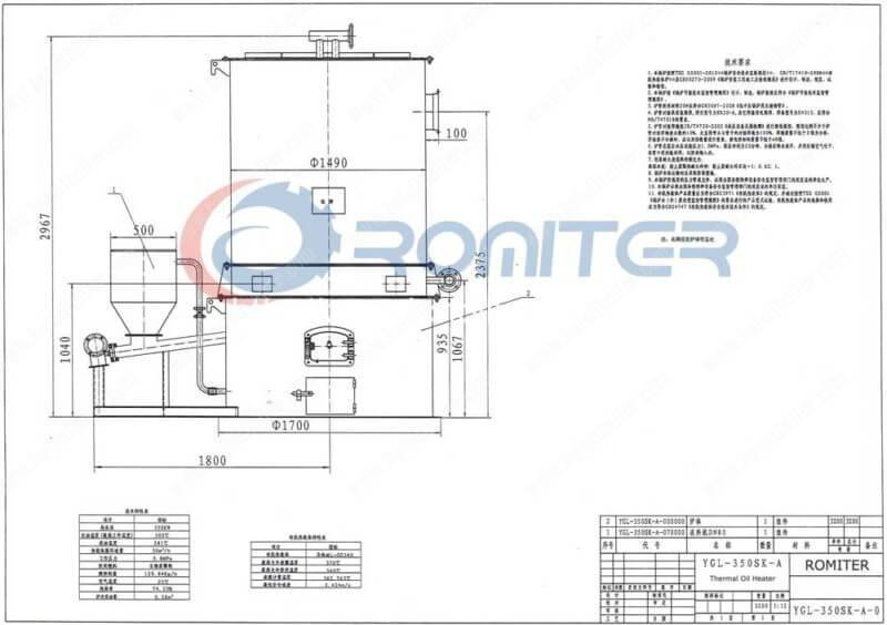 YGL-350SK-Screw-Feeding-Wood-Pellet-Fired-Thermal-Oil-Boilers
