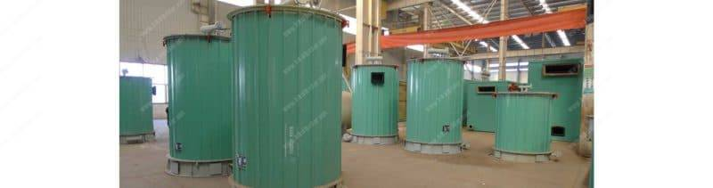 YGL vertical coal fired thermal oil heaters