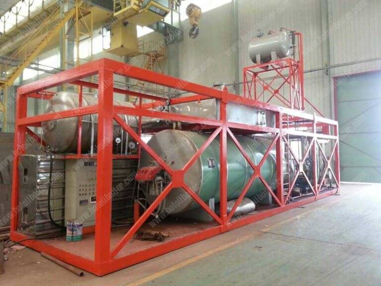 Steel Frame Installed Natural Gas Fired Thermal Oil Boilers