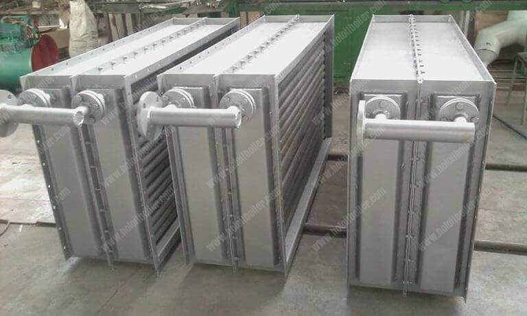 Fin Type Thermal Oil and Hot Air Heat Exchanger