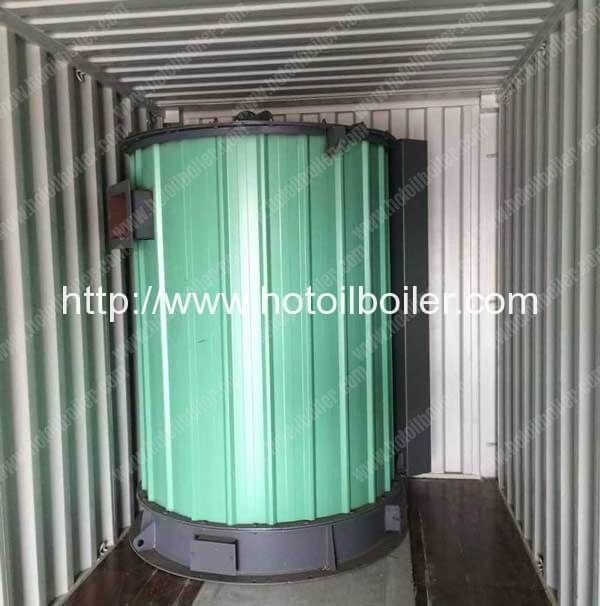 Palm Kernal Shell Fired Thermal Oil Heater Delivery for Indonesia Customer