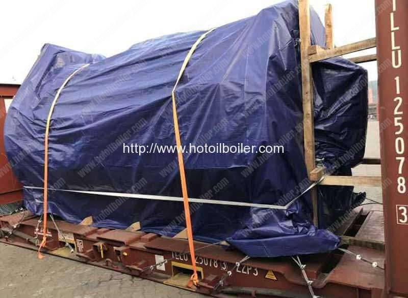 2000kw-wood-fired-thermal-oil-heater-top-parts-in-flat-rack