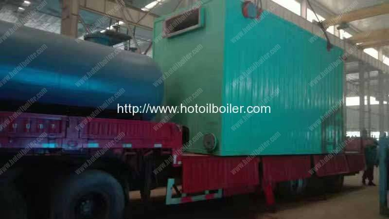 4200KW Coal Fired Thermal Oil Heater Delivery for Vietnam Customer