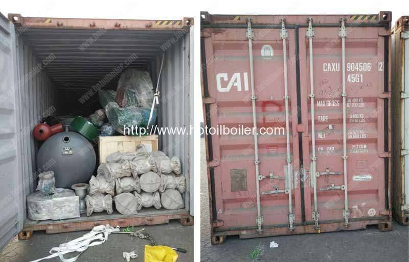 thermal-oil-heater-auxilliary-delivery-in-40hq-container
