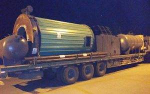 YGL-2000 Wood Fired Thermal Oil Heater Delivery for Africa Customer