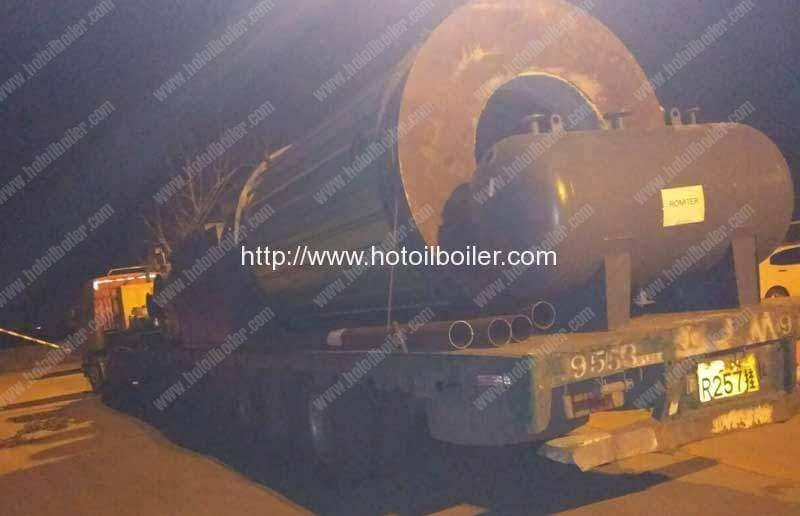 ygl-2000f-wood-fired-thermal-oil-heater-delivery-for-swaziland-customer