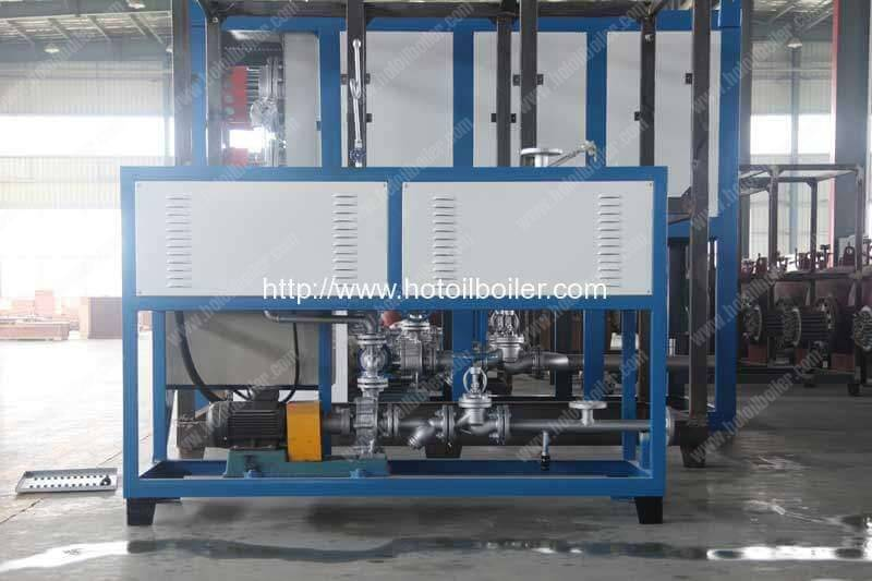 12KW-Electric-Heating-Thermal-Oil-Heater-Delivery-for-Singapore-Customer