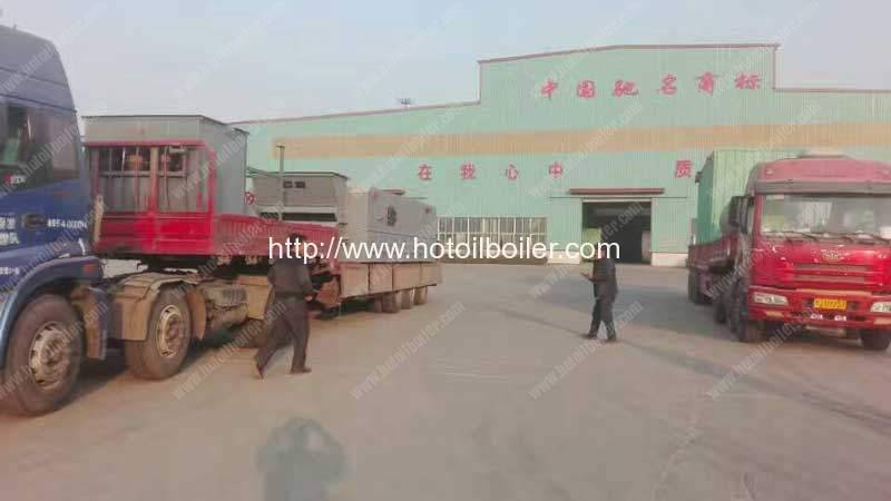4200KW Coal Fired Thermal Oil Heater Delivery for Tanzania Customer
