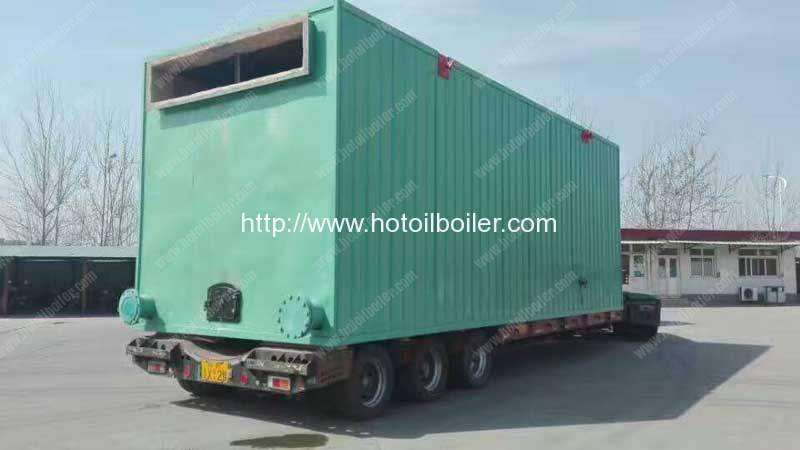 8400kw Wood Pellet Fired Thermal Oil Heater Delivery for Vietnam