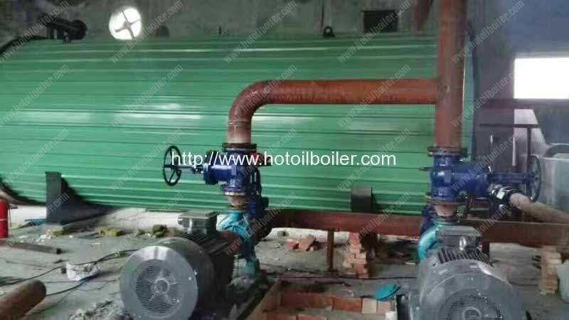 Diesel-Fired-Thermal-Oil-Heater-Installation-in-Russia-Customer-Factory