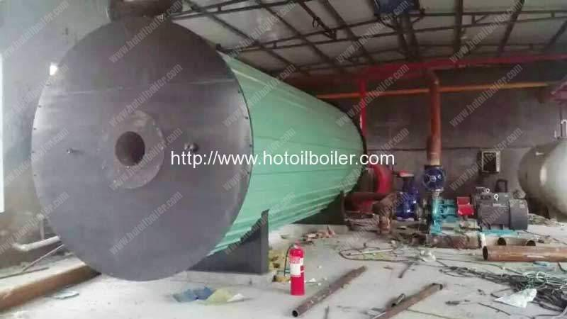 Diesel-Fired-Thermal-Oil-Heater-Installation-in-Russia