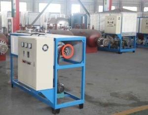 12KW Electric Heating Thermal Oil Heater Delivery for Singapore Customer