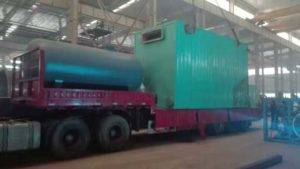 3500KW Wood Fired Thermal Oil Heater Delivery for Myanmar Customer