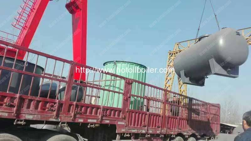 YGL-350KW Wood Fired Thermal Oil Heater for Malaysia Customer