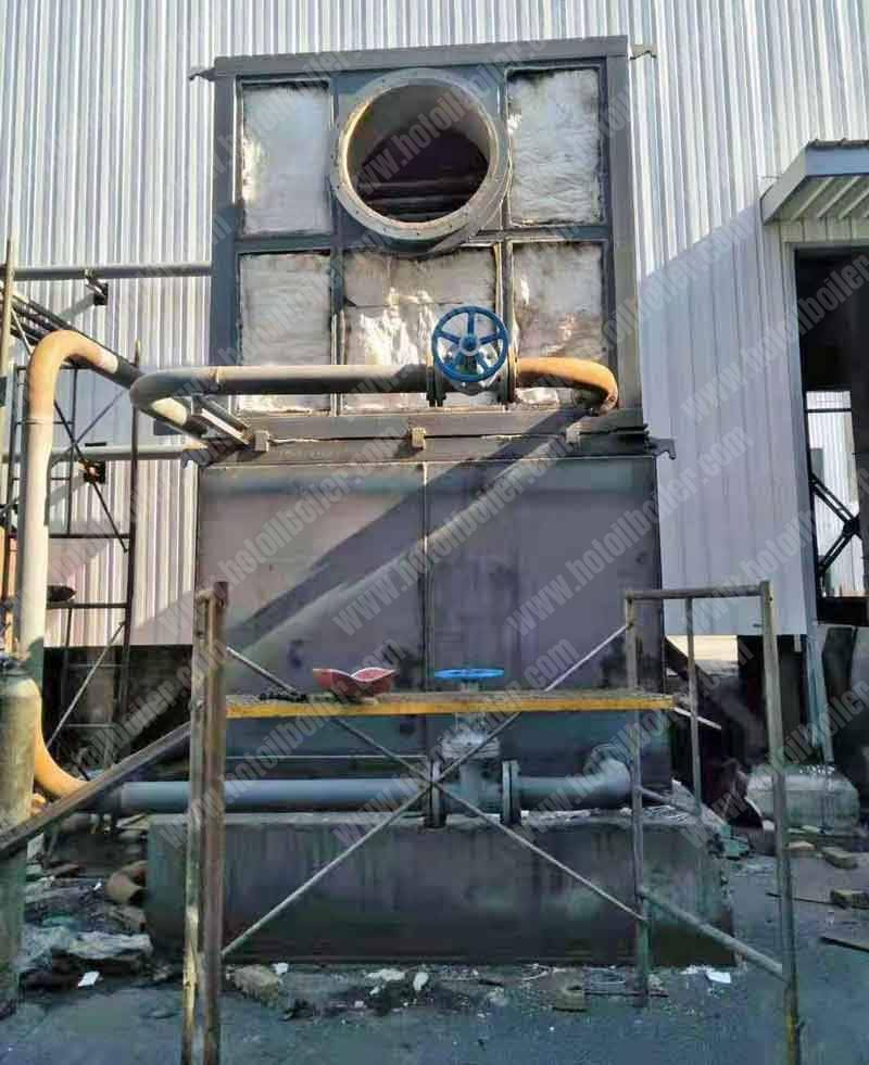 Flue-Gas-Waste-Heat-Recovery-Thermal-Oil-Heater-Project