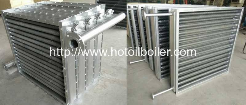 Aluminium-Fin-Type-Thermal-Oil-and-Hot-Air-Heat-Exchanger
