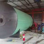 Diesel Fired Thermal Fluid Heater Installation in Russia Customer Factory